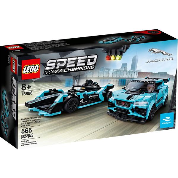 樂高積木 LEGO《 LT76898 》SPEED CHAMPIONS 系列 - Formula E Panasonic Jaguar╭★ JOYBUS玩具百貨