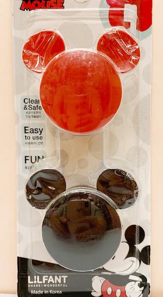 【震撼精品百貨】Micky Mouse_米奇/米妮 ~迪士尼牙刷收納架~兩入#06404