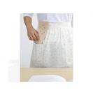 [Mamae] ~新品~出口韓國清新小花半身圍裙 成人廚房工作服 成人圍裙罩衣 餐廳 廚房 園藝 腰部圍裙