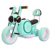 小孩兒童電動摩托車三輪車1-5歲充電男女孩童車音樂玩具車可坐人jy 免運滿499元88折秒殺