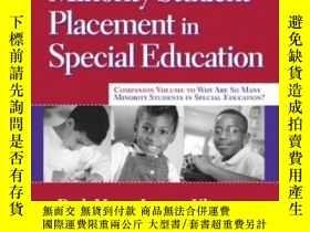 二手書博民逛書店Case罕見Studies Of Minority Student Placement In Special Ed