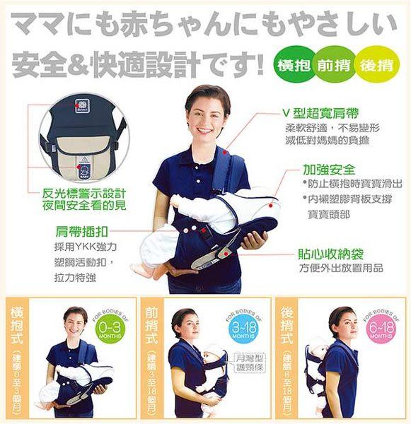 【奇買親子購物網】小獅王辛巴simba三合一多功能揹巾-(紅/藍)