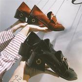 皮鞋秋季女單鞋新款潮百搭平底軟妹小皮鞋復古仙女鞋子潮多莉絲旗艦店