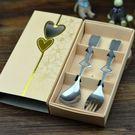 婚禮小物  鏤空愛心湯勺+叉子禮盒組  想購了超級小物