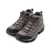 MERRELL MOAB 2 MID GORE-TEX 中筒健走登山鞋 棕灰/紅 ML99798 女鞋