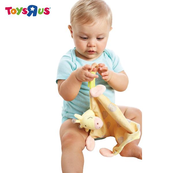 玩具反斗城【 UNIVERSE OF IMAGINATION 】長頸鹿安撫玩具禮盒
