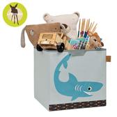 德國Lassig-玩具儲物箱-小鯊魚