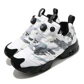 Reebok 休閒鞋 Instapump Fury Trail 黑 白 男鞋 女鞋 反光 運動鞋 【ACS】 FZ1285