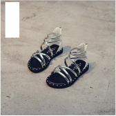 女童涼鞋公主鞋女孩羅馬涼鞋夏季兒童休閒鞋子學生鞋 全館免運