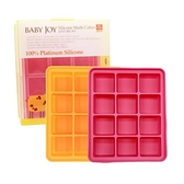 朴蜜兒 Baby Joy 鉑金矽膠副食品保存盒/製冰盒(12格) 顏色隨機出貨