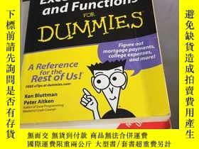 二手書博民逛書店Excel罕見Formulas and Functions Fo