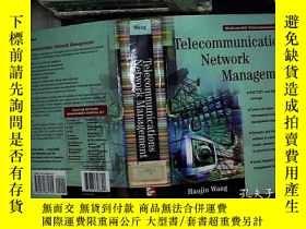 二手書博民逛書店Telecommunications罕見Network Mana
