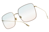 Dior 太陽眼鏡 STELLAIRE1 EYR8Z (粉金-漸層藍粉鏡片) 歐美時尚漸層款 墨鏡 #金橘眼鏡