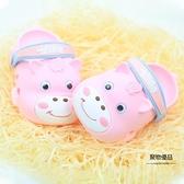 女童寶寶包頭涼小童塑料軟底男童包腳兒童洞洞鞋夏【聚物優品】
