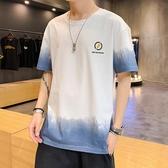 夏季男士短袖T恤2020新款潮牌潮流純棉短袖衣服休閒打底衫男春裝