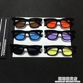 小方框眼鏡志龍同款太陽鏡男女潮墨鏡原宿眼鏡 極簡雜貨
