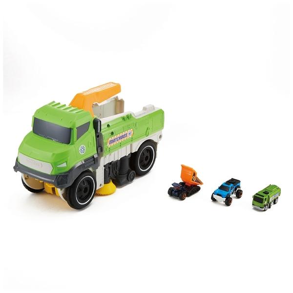 火柴盒小汽車Matchbox 清潔車 附小車