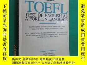 二手書博民逛書店英文罕見TOEFL TESTY15969