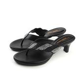 HUMAN PEACE 高跟涼鞋 黑色 女鞋 no015