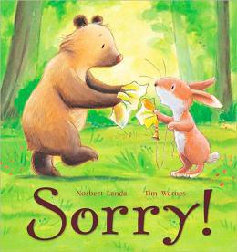 【麥克書店】SORRY/英文繪本 《主題:友誼》