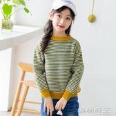 女童毛衣新款兒童秋冬裝加厚高領線衣中大童低領針織衫打底衫     時尚教主