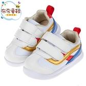 《布布童鞋》BABYVIEW頂級白色流線柔軟機能寶寶學步鞋(13~18公分) [ O9A078M ]