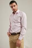 SST&C 男裝 紋理粉色襯衫 | 0312006008