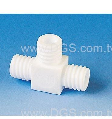 《BOHLENDER》T型螺 牙接管 PTFE GL-Tube Fitting, T-Pieces, PTFE