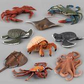 海洋動物模型擺件仿真塑膠實心玩具【3C玩家】