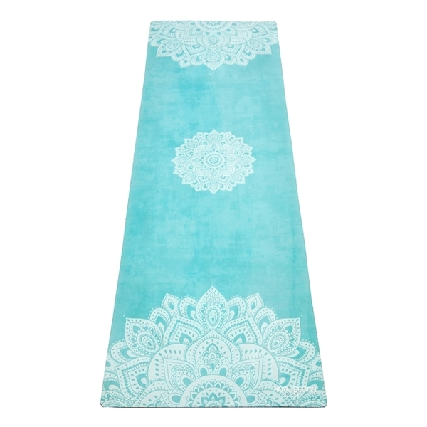 【YogaDesignLab】Combo Mat 天然橡膠瑜珈墊3.5mm - Mandala Turquoise