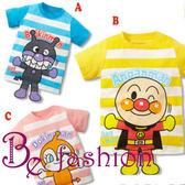男童超人 短袖T恤 全棉條紋 印花服裝  Be Fashion