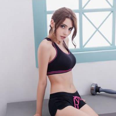 玩色!重量交叉美背運動內衣S-XL(黑) BRA運動內衣 運動內衣褲《Life Beauty》