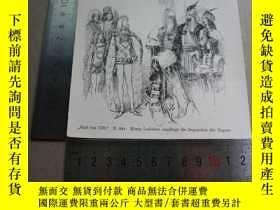 二手書博民逛書店【百罕見】1895年木刻版畫《könig ladislaus empfängt die deputation de