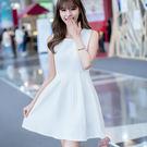 韓風蕾絲鏤空背心洋裝/連身裙 L/XL碼【D927228】