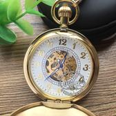 大數字錶盤 全自動機械錶真銅掛錶個性 萬客城