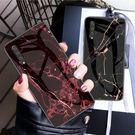 三星 Galaxy A50 A70 手機殼 防摔 三星A70 鋼化玻璃背蓋 保護套 全包 矽膠軟邊 大理石