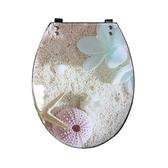 沙灘造型緩降馬桶蓋