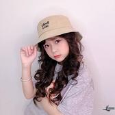 兒童漁夫帽刺繡水桶帽韓版男童盆帽女童寶寶帽子【邻家小鎮】