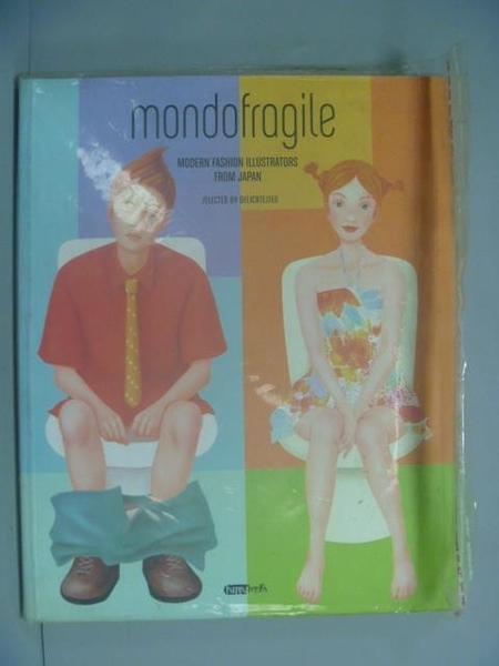 【書寶二手書T8/藝術_ZIU】Mondo Fragile_Delilcatessen