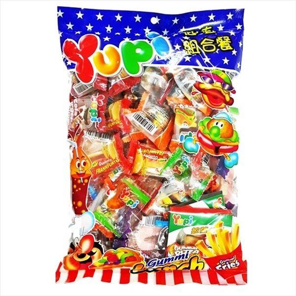 Yupi 呦皮 超值組合餐軟糖 432g【4711402820009】(印尼糖果)