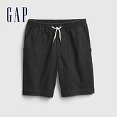Gap男童 柔軟舒適仿牛仔布短褲 682041-灰黑色