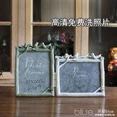 6寸7寸8寸洗照片加相框創意婚紗照樹脂擺台歐式小奢華現代簡約 深藏blue