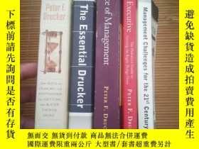 二手書博民逛書店the罕見effective executive & manag