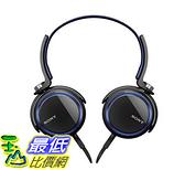 [美國直購] 耳機 Sony MDRXB400/BLU Extra Bass Over The Head 30 mm Driver Headphone Blue