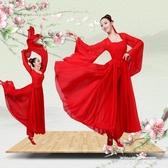 秒殺漢服古典舞演出服女改良漢服紅昭愿涼涼單色舞蹈知否大魚海棠演出服裝
