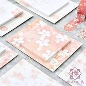 3個裝 櫻花便利貼手帳貼便簽貼N次貼記事標簽貼紙【櫻田川島】