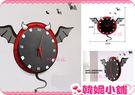 韓妮小舖 創意動物造型掛鐘 牆面鐘 藝術...