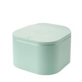 垃圾桶 桌面垃圾桶可愛迷你創意餐桌北歐床頭按壓式茶幾上放的小號紙簍盒    英賽爾3C數碼店