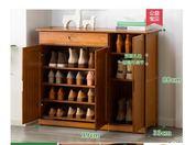 木馬人鞋架子多層簡易家用經濟型門廳鞋櫃收納組裝實木制簡約現代NKS歐歐流行館