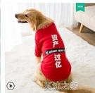 寵物服 金毛大狗狗秋季衣服薩摩耶拉布拉多寵物中型大型犬柴犬裝衛 快速出貨